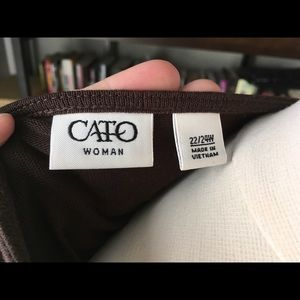 Cato Tops - Cato elastic banded blouse